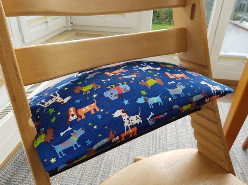 Sitzkissen für Kinderhochstuhl
