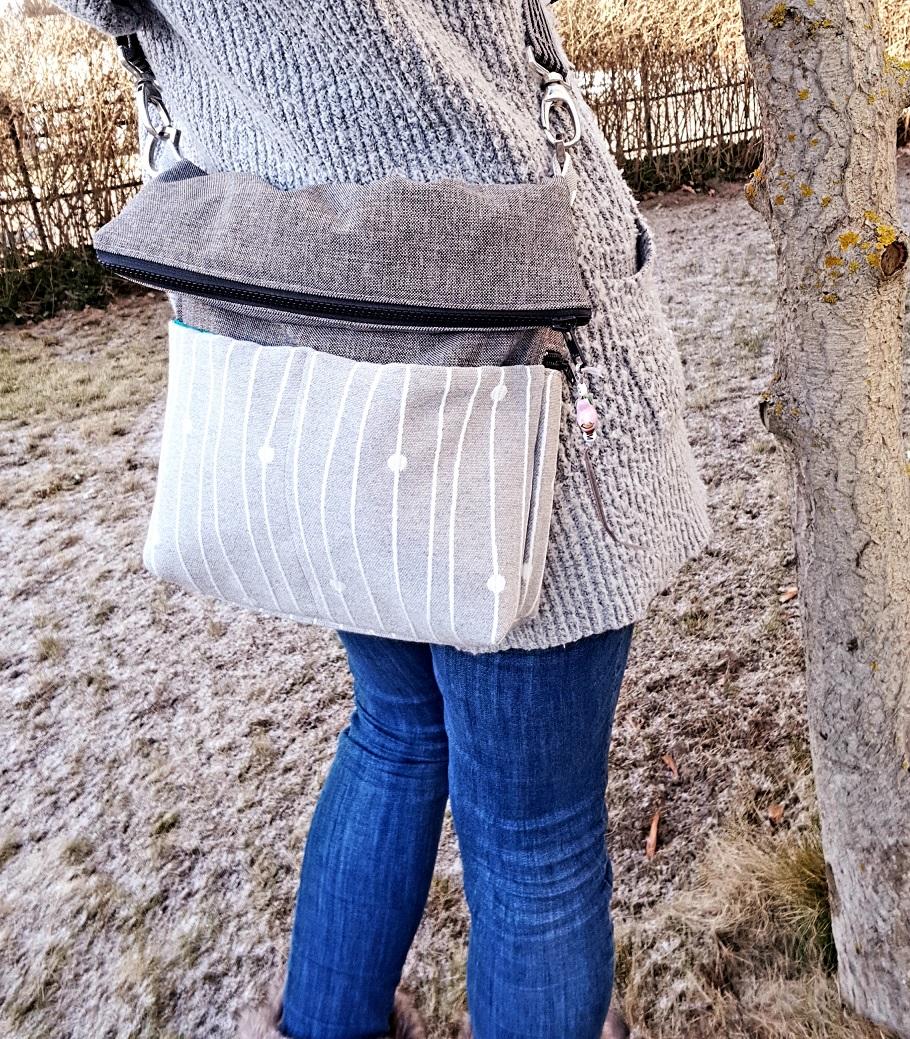 """""""Cecilienhof""""… eine Foldover-Tasche"""