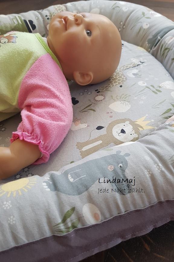 Verflixt und zugenäht – ein Babynest