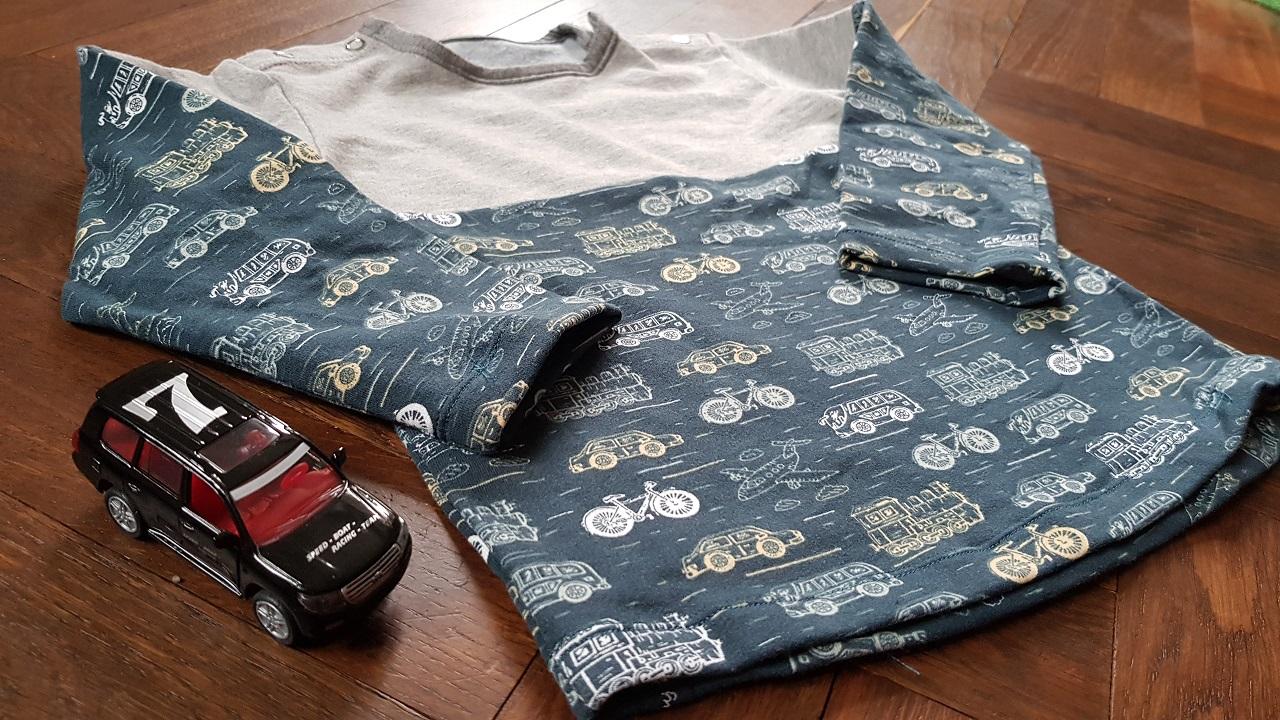 Ein Sweatshirt aus der Ottobre